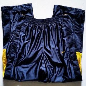 Nike Tear Away Snap Warm Up Pants
